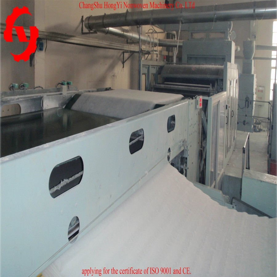 5500mm Cross Lapper Non Woven Machinery With PLC Touch Screen